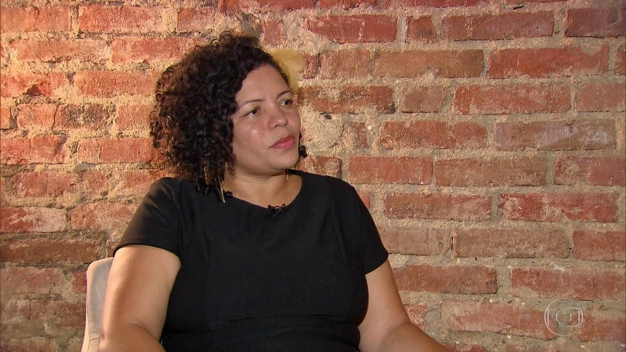 Dani Portela, do PSOL, é entrevistada pelo NE1
