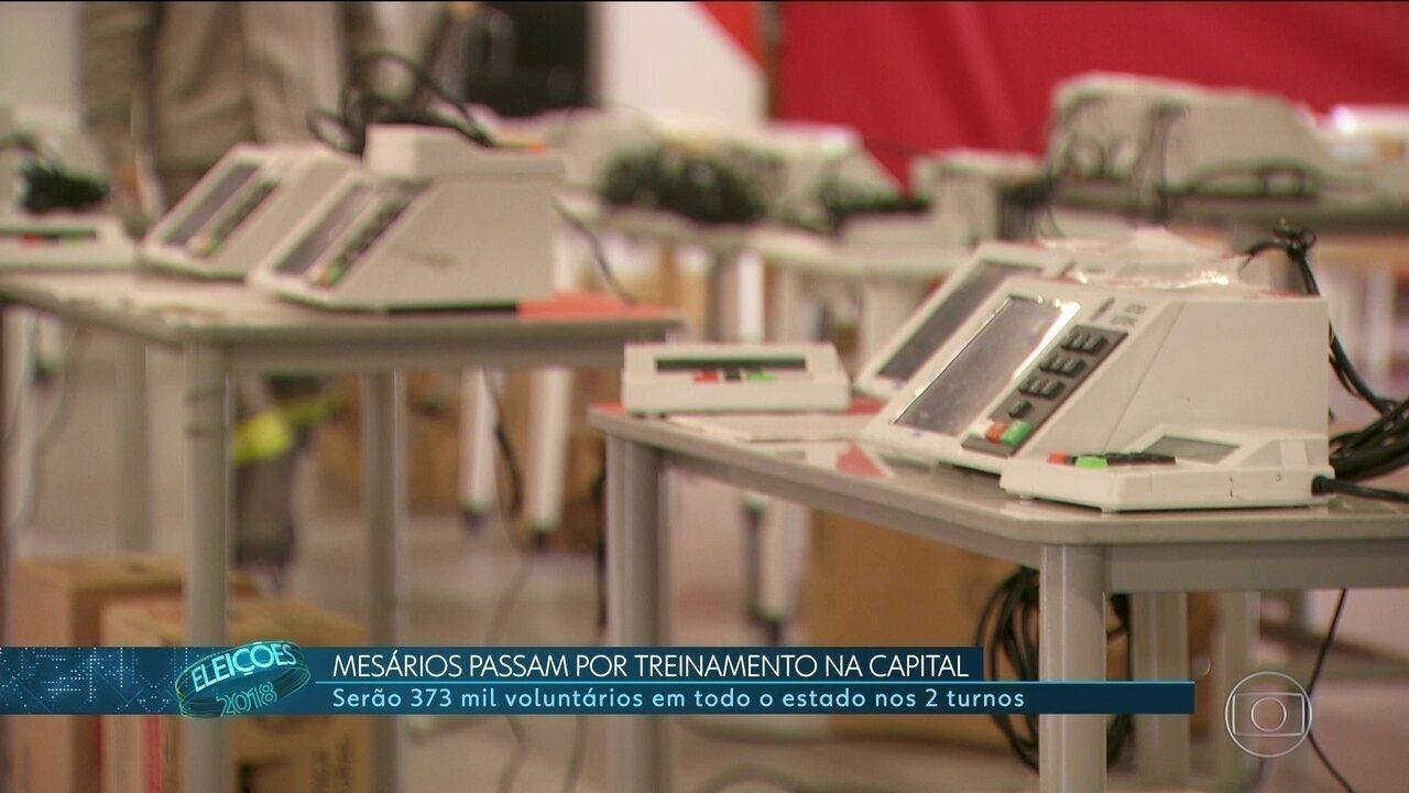 Mais de 370 mil mesários vão trabalhar nessas eleições