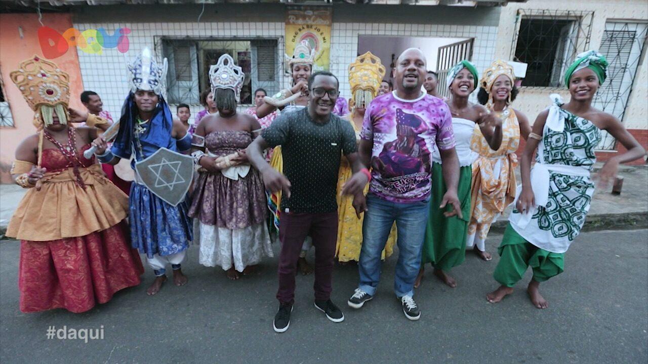 Bloco Afro Netos de Nanã mostra sua história no Daqui