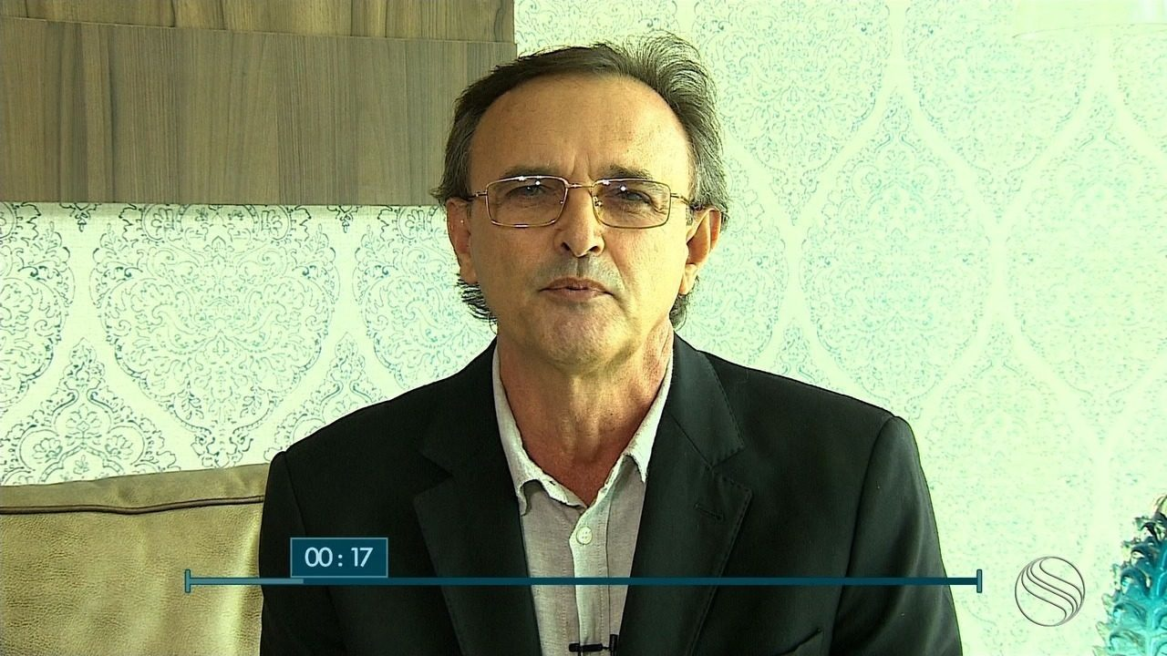João Tarantella, candidato ao governo de SE, é entrevistada no SETV1ª Edição