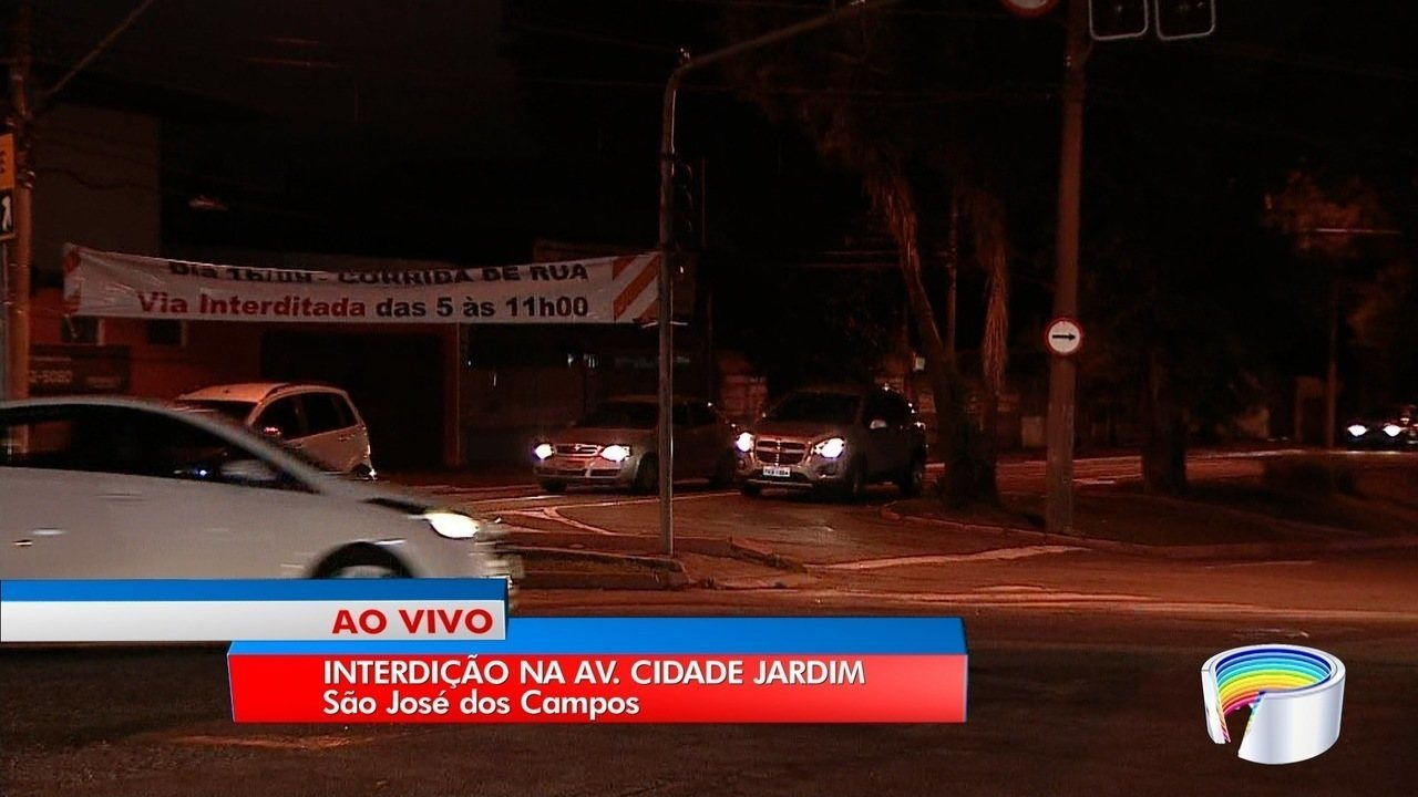 Zona sul de São José tem vias interditadas neste domingo