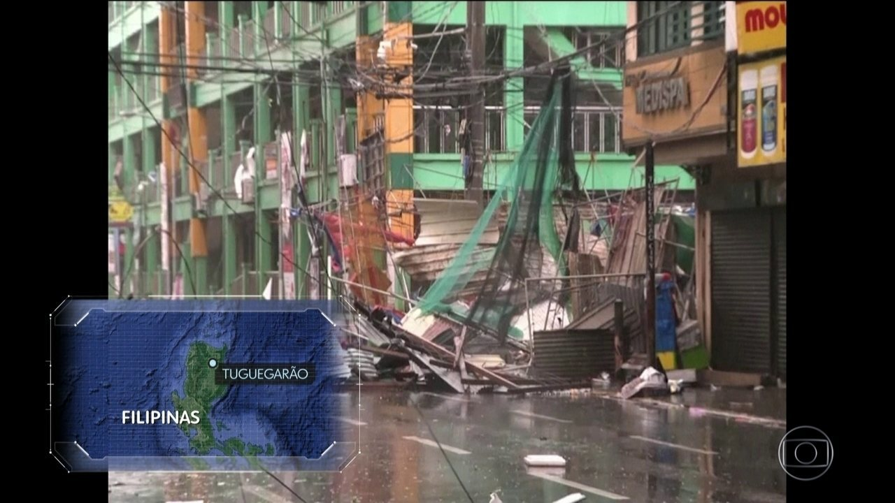 Tufão Mangkut faz 18 mortos em passagem pelas Filipinas