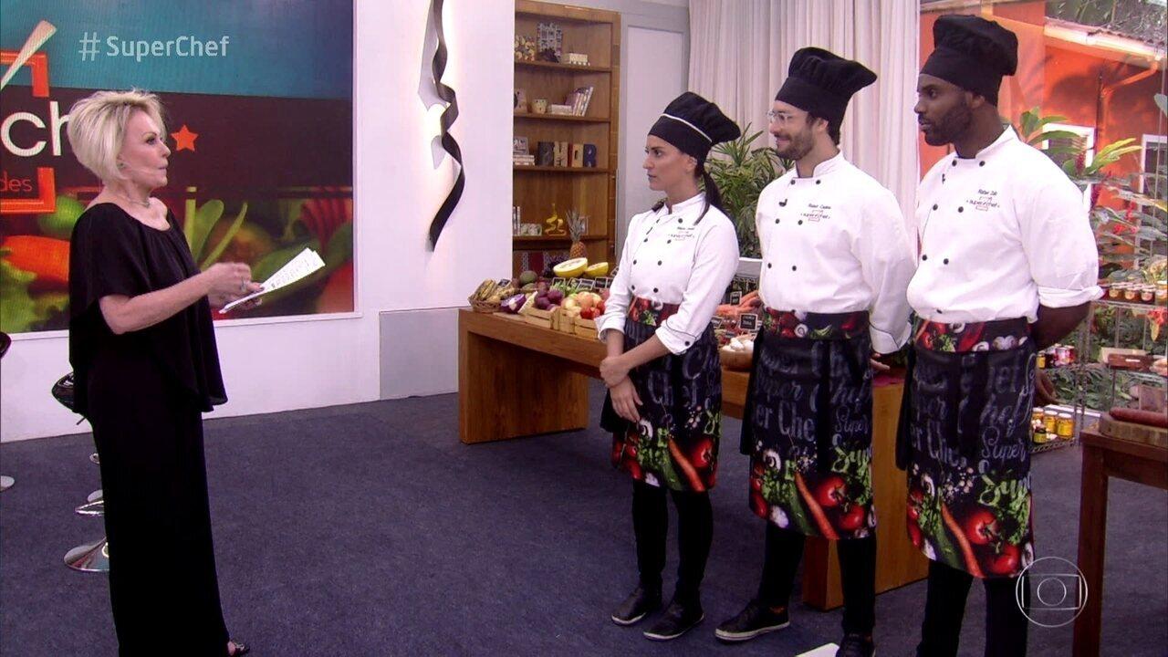 Veja como foi o início da prova final do 'Super Chef Celebridades'