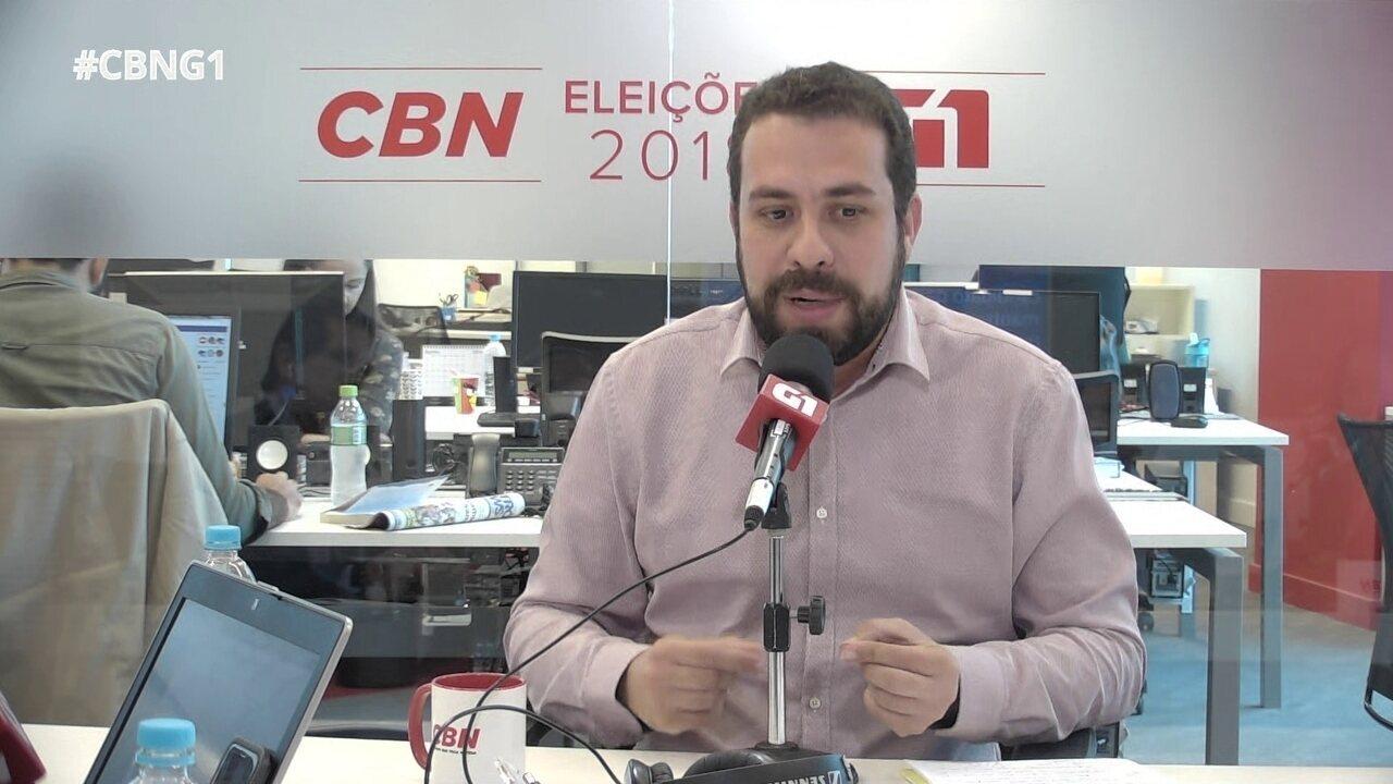 Guilherme Boulos responde a perguntas sobre o Monitor da Violência