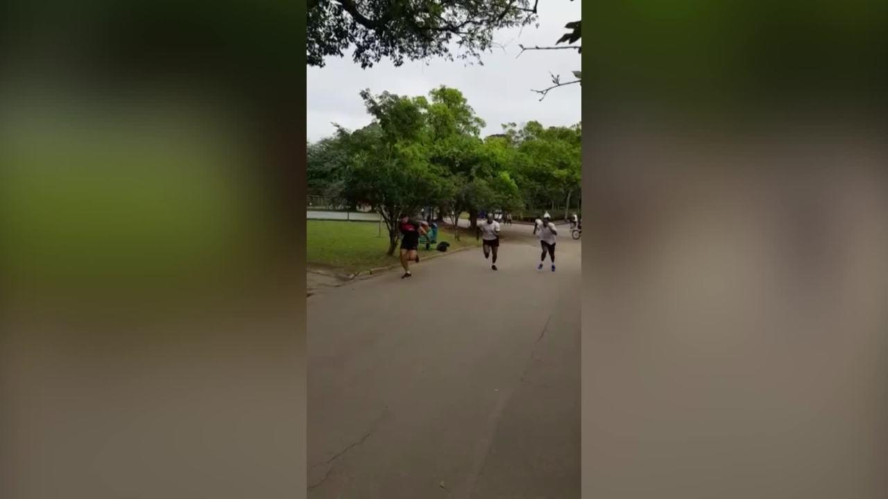 Vídeo mostra momento exato que Jimi Manuwa sofre a lesão que o tirou do UFC São Paulo