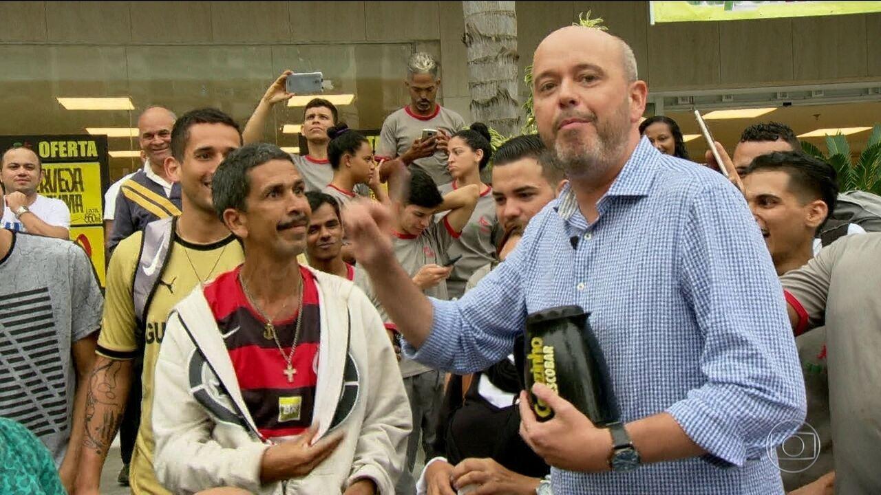 Cafezinho com Escobar: torcedores repercutem rodada em São Conrado