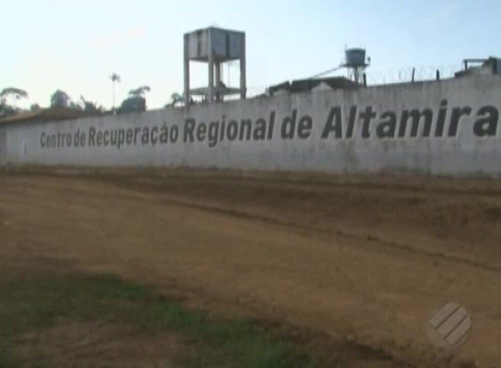Após tentativa de fuga, presos fazem motim na penitenciária de Altamira, sudoeste do Pará