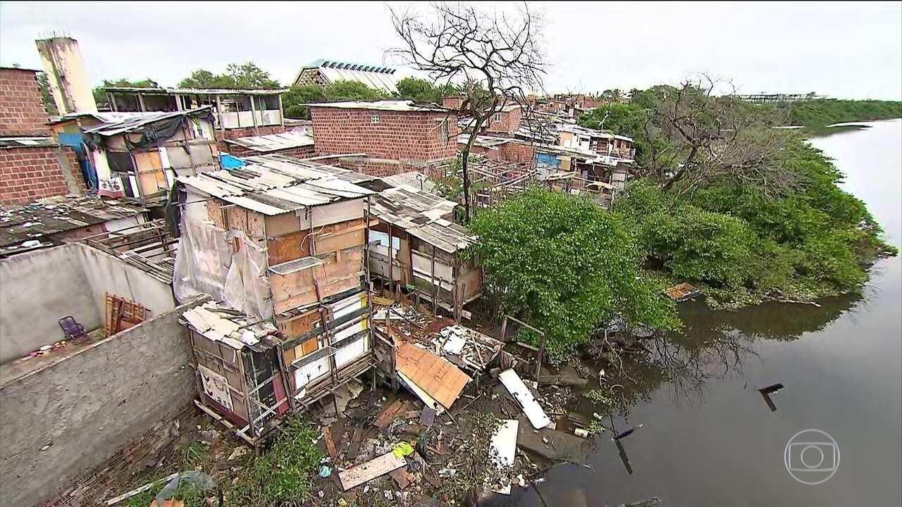 Série mostra que a rede de esgoto só atende a 26,8% dos moradores do Nordeste