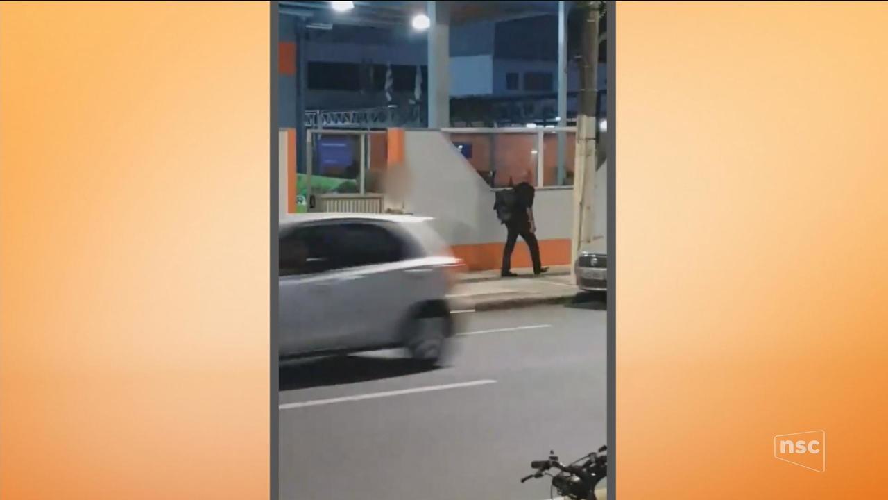 Polícia prende suspeito de assediar mulheres em Blumenau