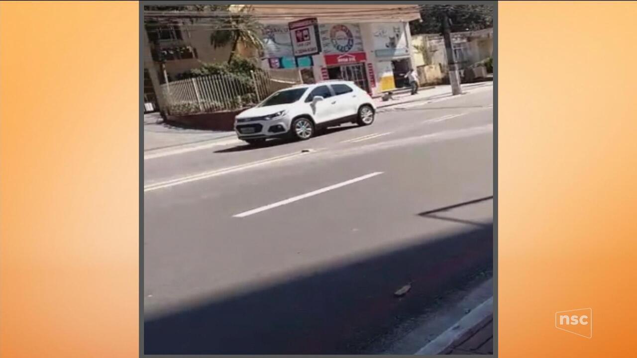 Tentativa de assalto deixa uma mulher ferida em Florianópolis