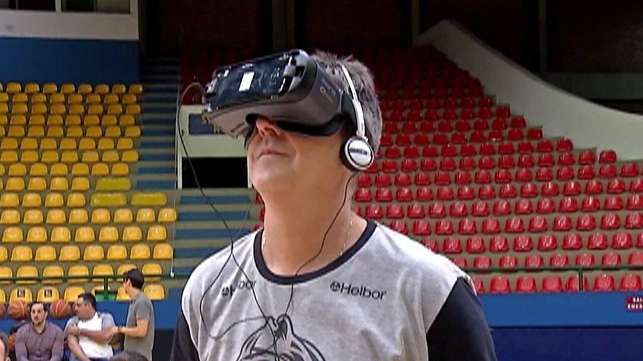 Mogi apresenta projeto de realidade virtual para elenco e torcedores ... 2ea97fb24de31