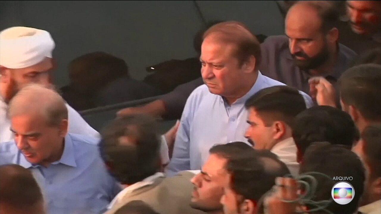 Suprema Corte do Paquistão manda soltar ex-primeiro ministro