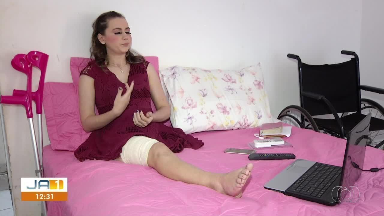 Um ano após acidente que deixou jovem com perna amputada, suspeito não foi julgado