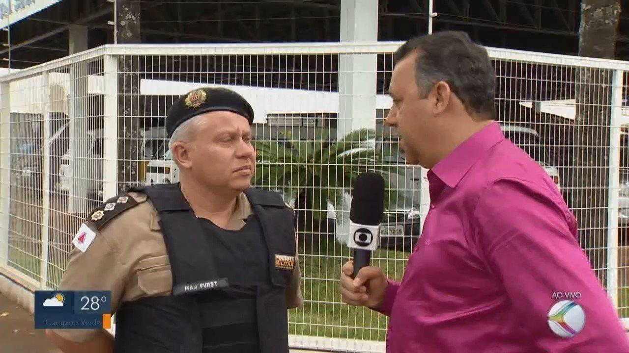 Empresário é feito refém durante assalto no Centro de Patos de Minas