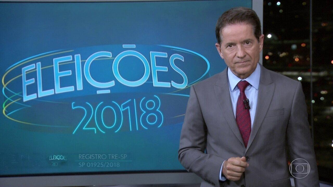 Ibope faz simulação de segundo turno entre candidatos ao governo de SP