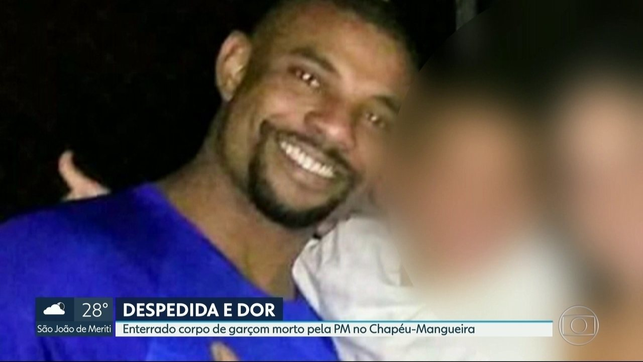 Enterrado o corpo do garçom morto no Morro do Chapéu- Mangueira