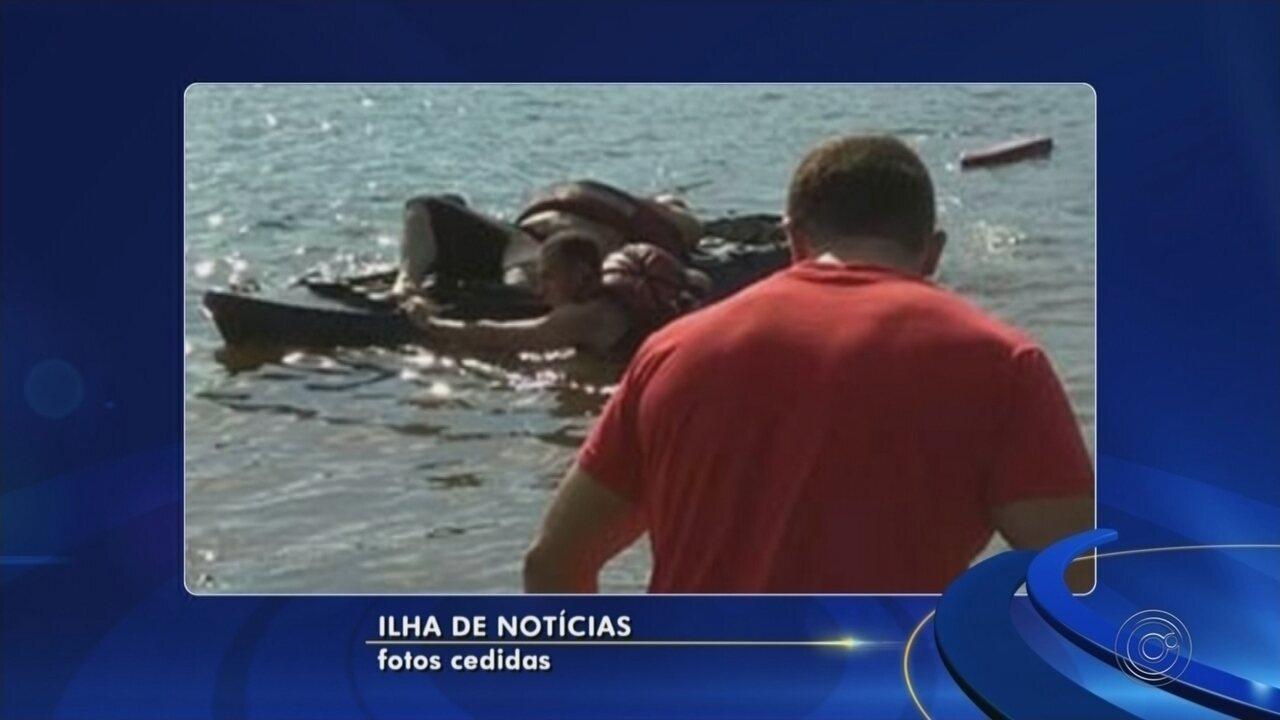 Homem morre após se afogar no Rio Paraná em Ilha Solteira