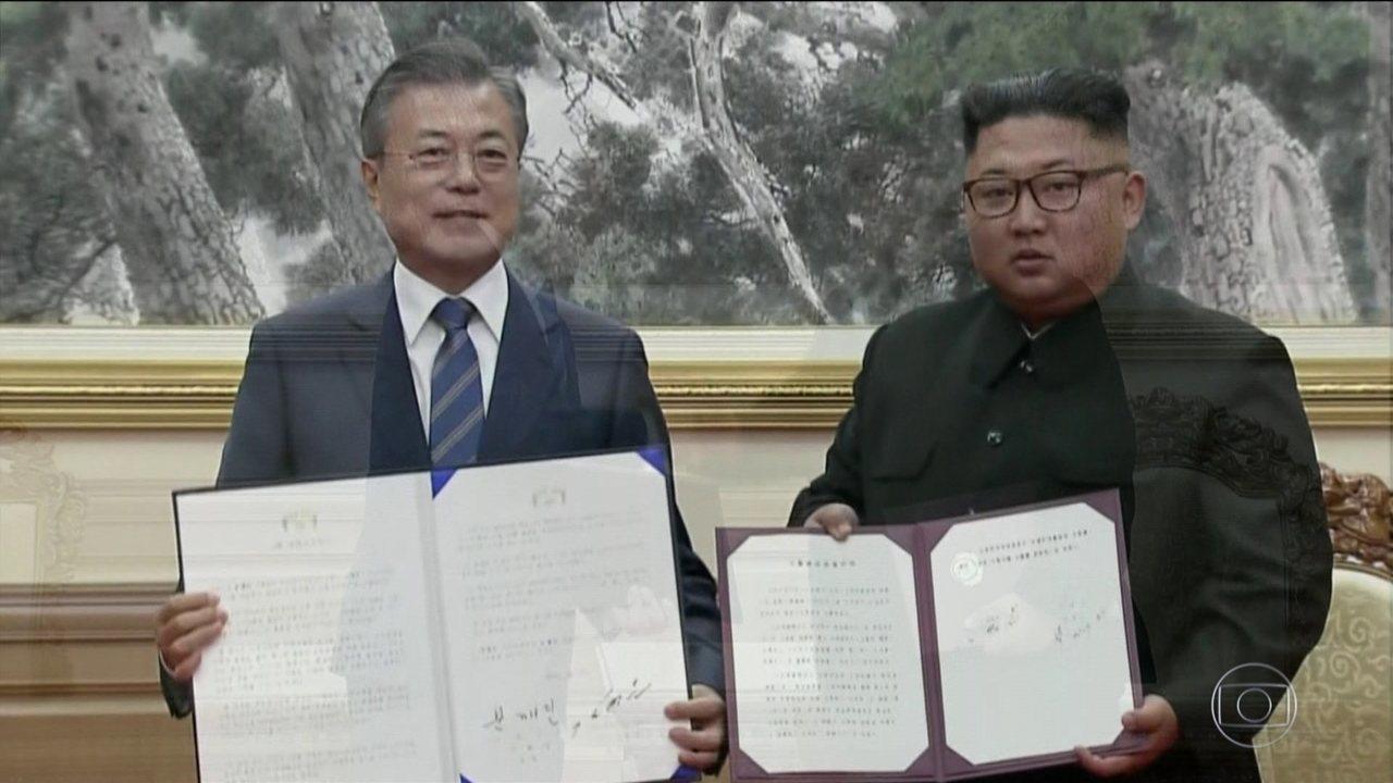 Coreia do Norte se compromete a fechar instalações relacionadas a programa nuclear