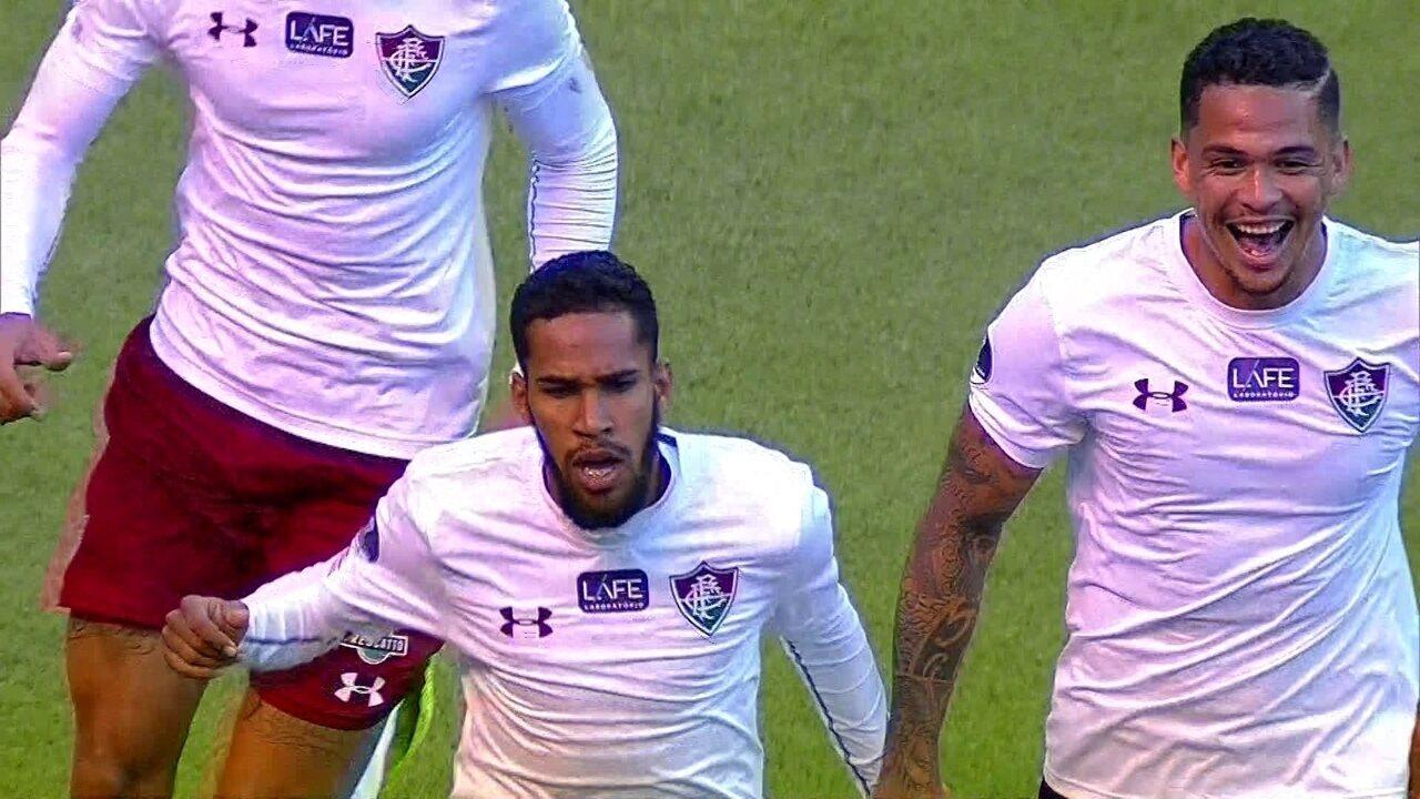 Melhores Momentos de Deportivo Cuenca 0 x 2 Fluminense pelas oitavas da Sul-Americana