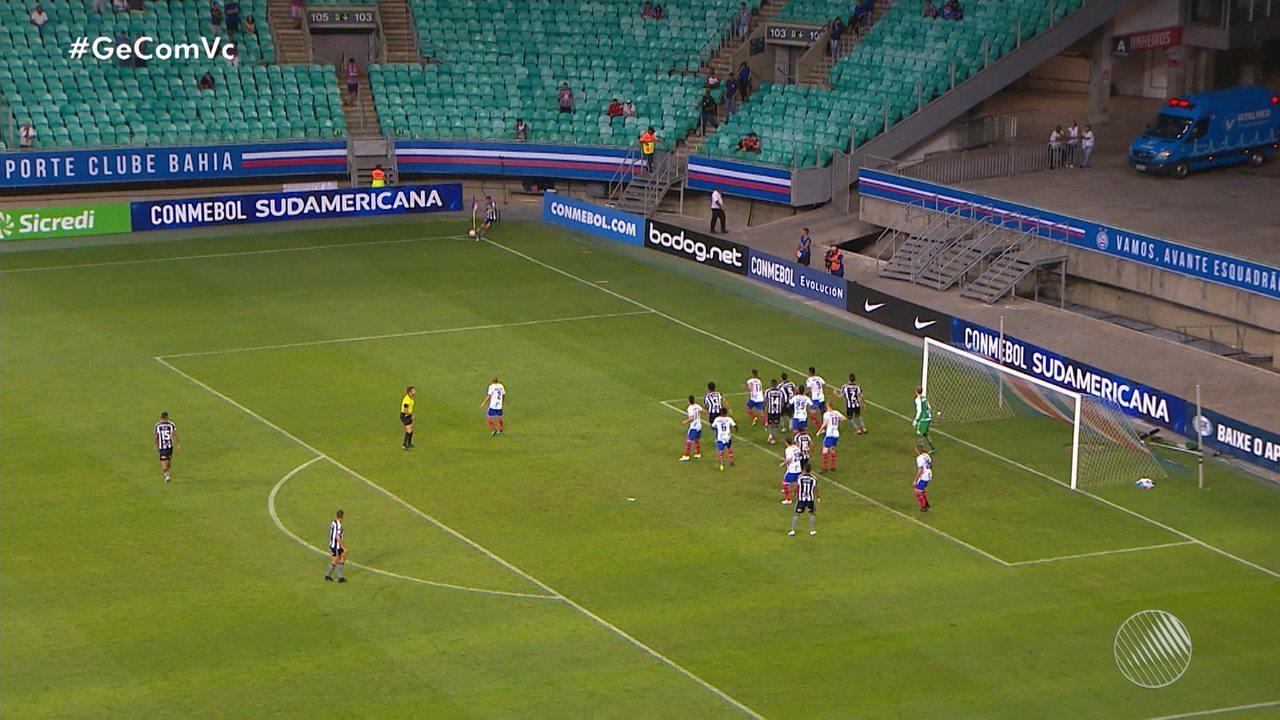 Bahia vence o Botafogo e abre vantagem na Copa Sul-Americana