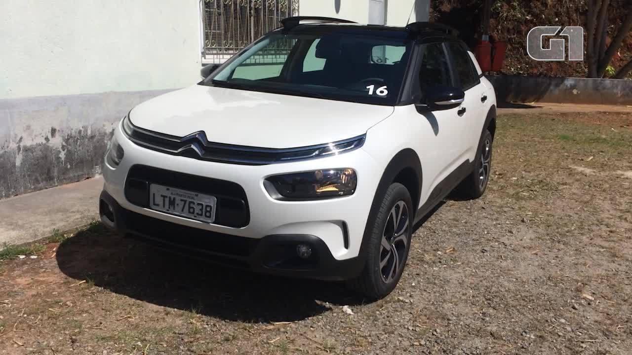 G1 testa o novo SUV da Citroën, o C4 Cactus