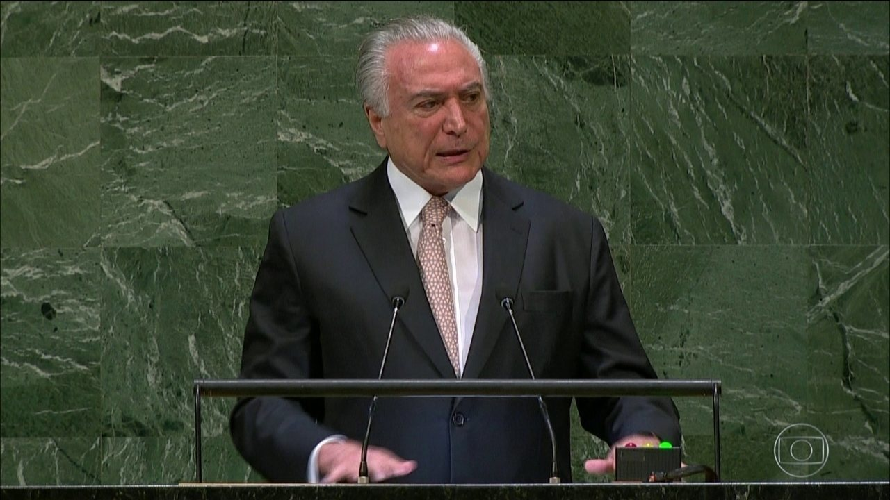 NA ONU, Temer defende integração entre os países e pede cadeira para o Brasil no CS
