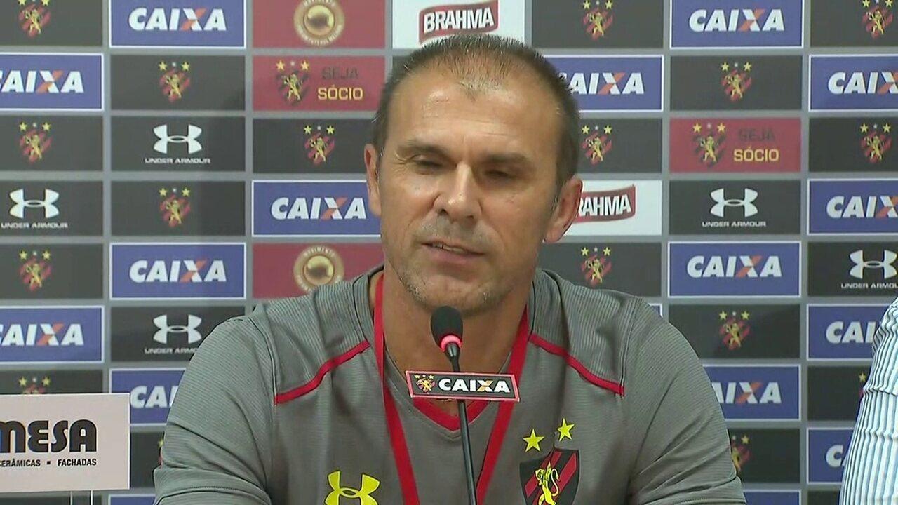 Milton Mendes garante que conta com Michel Bastos e Fellipe Bastos no Sport