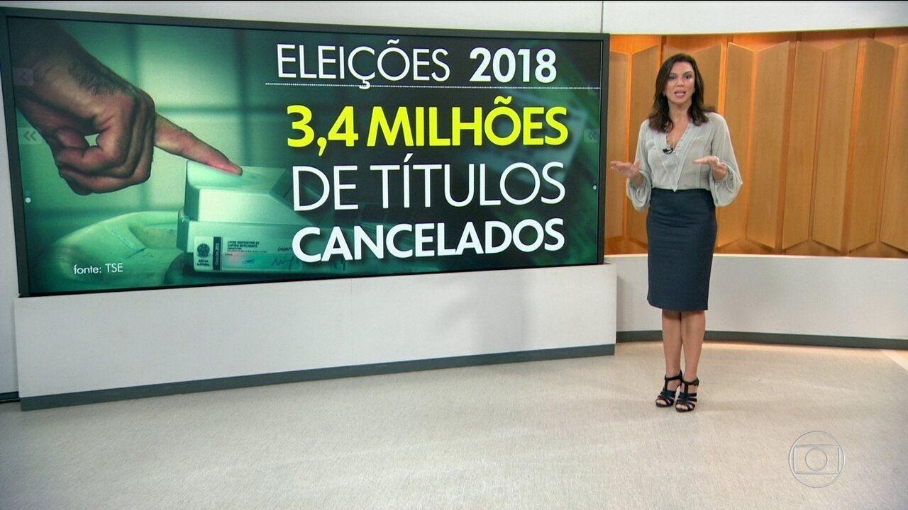 STF mantém cancelados mais de 3 milhões de títulos de eleitores que não cadastraram a biometria