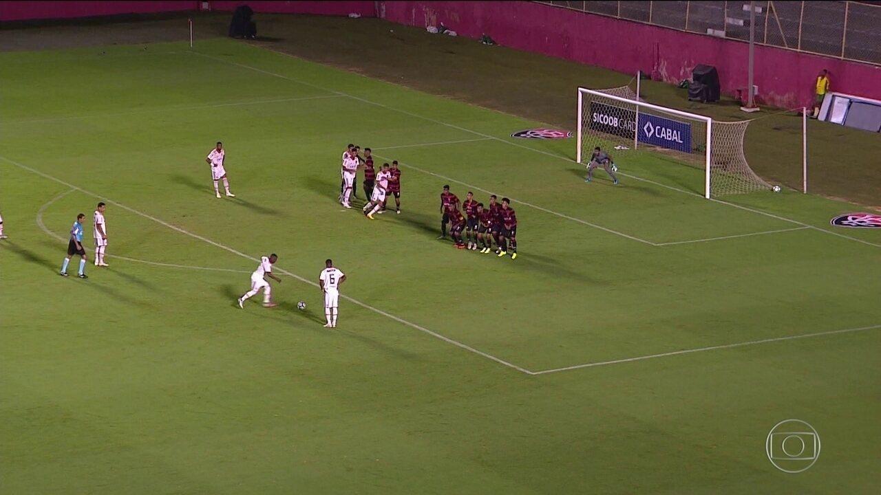 Flamengo é atropelado pelo Vitória e perde semifinal do Brasileiro Sub-20  por 6 a 10d70e473e10e