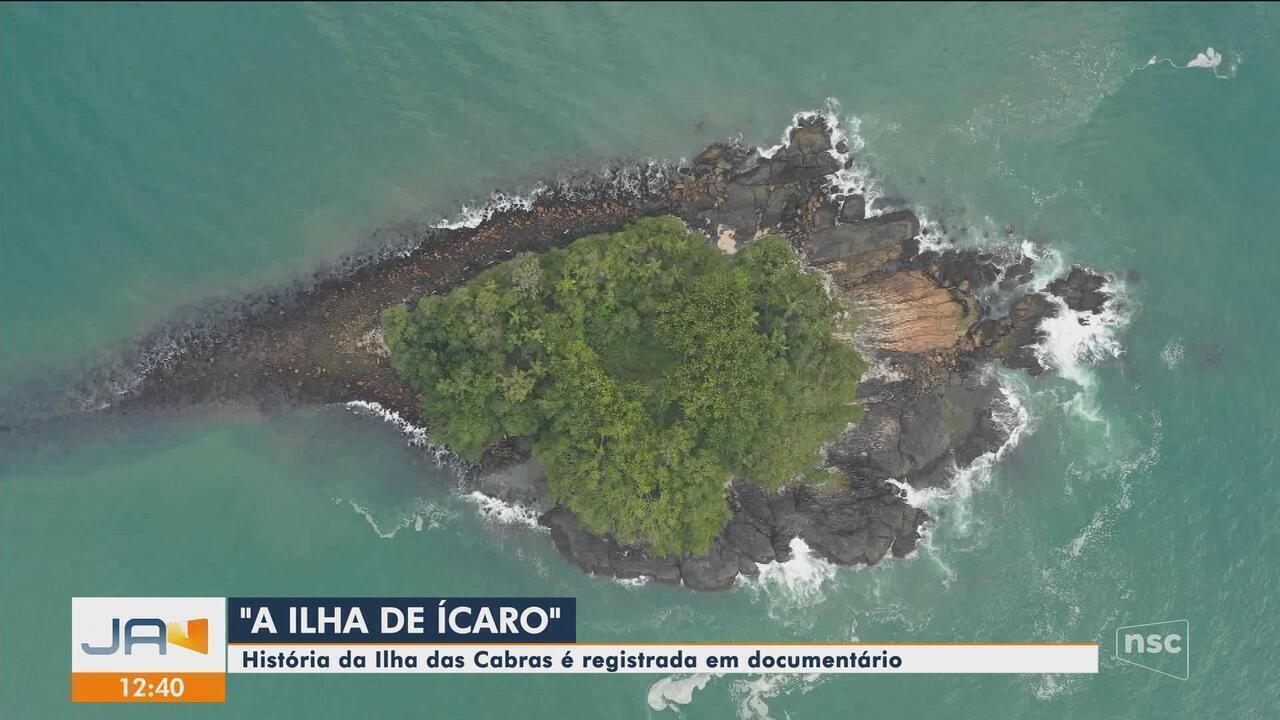 Documentário conta história de tradicional ilha de Balneário Camboriú