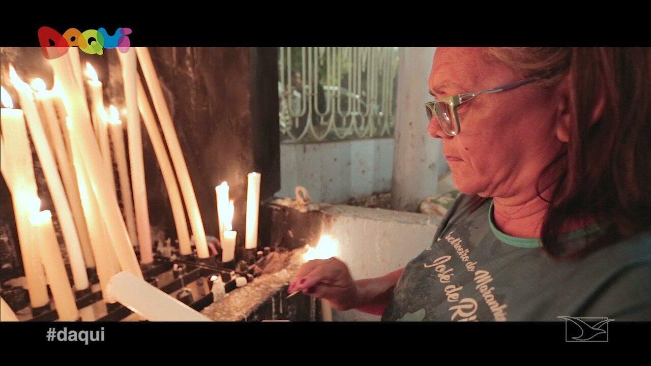 Daqui mostra a fé dos maranhenses à São José de Ribamar