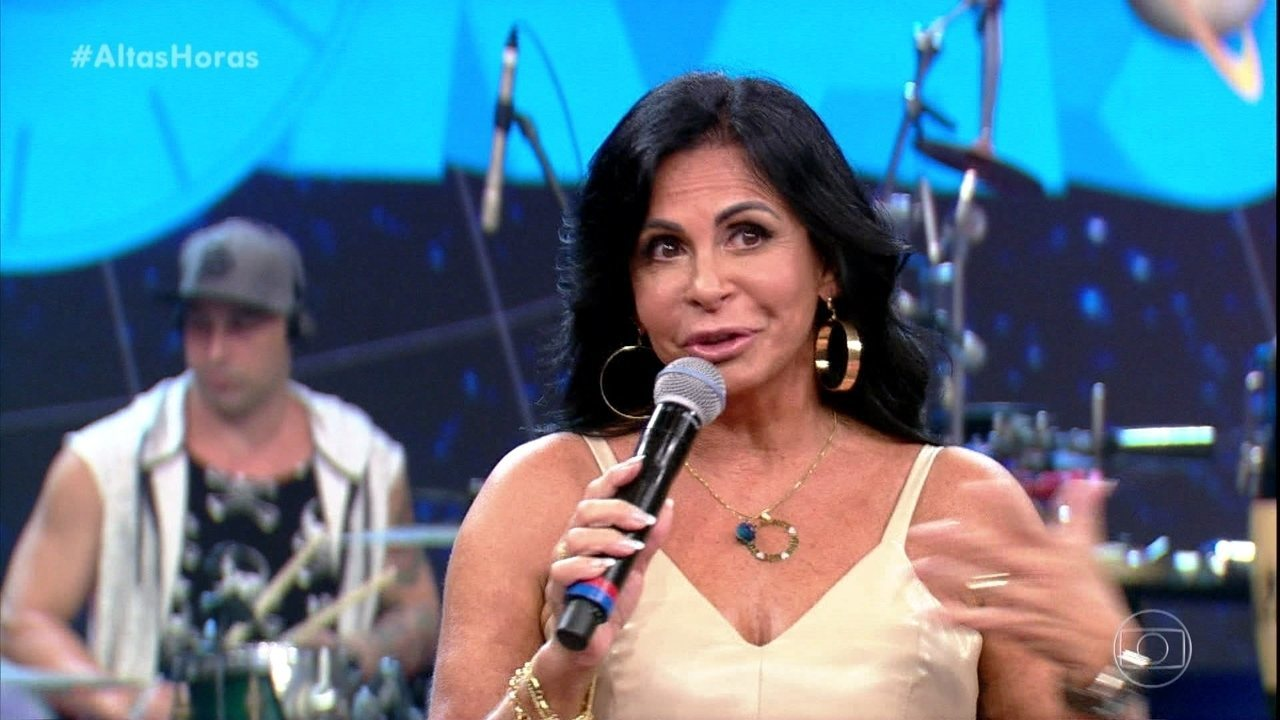 Gretchen conta história do hit 'Conga Conga Conga'