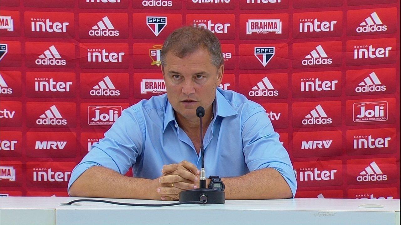 Aguirre conta com Everton de volta diante do Palmeiras e prevê disputa do título até o fim