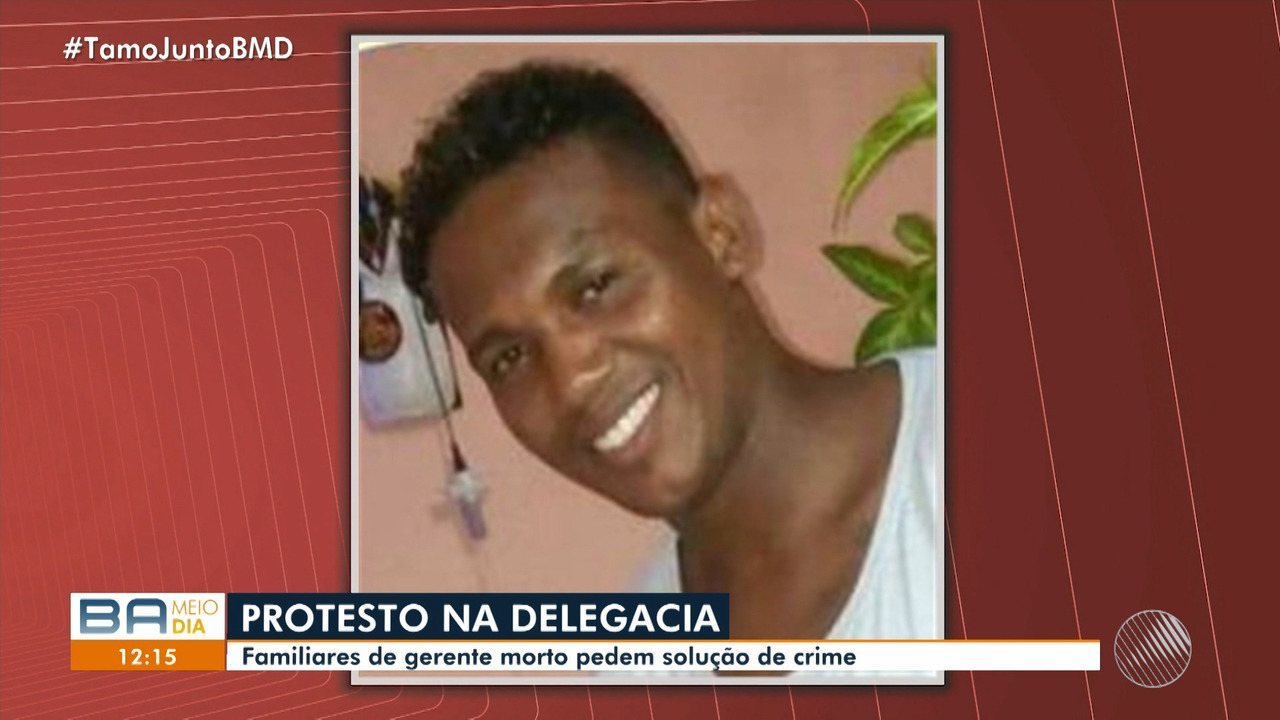 Protesto: familiares de gerente morto no Itaigara pedem solução para o crime
