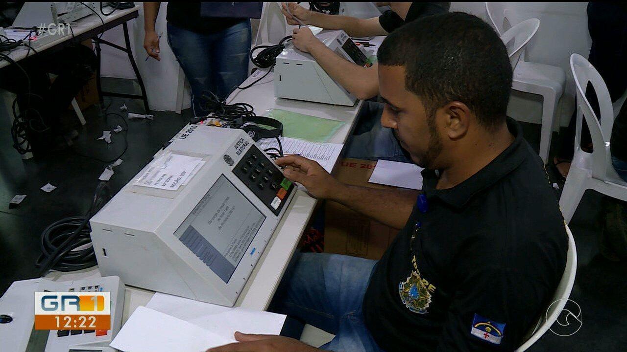 Cartório eleitoral de Petrolina prepara urnas eletrônicas para as eleições