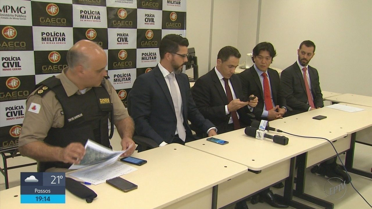 Operação do Gaeco termina com 20 pessoas presas no Sul de Minas