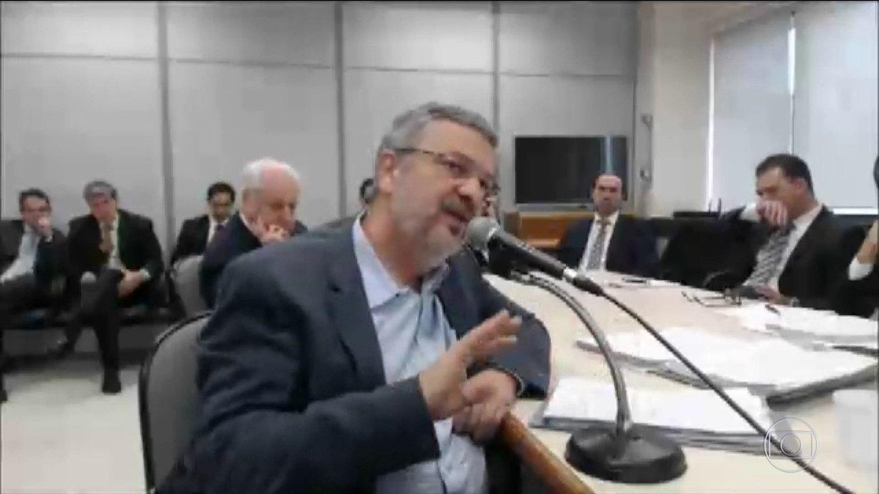 Palocci relata em delação as origens do mensalão e do petróleo