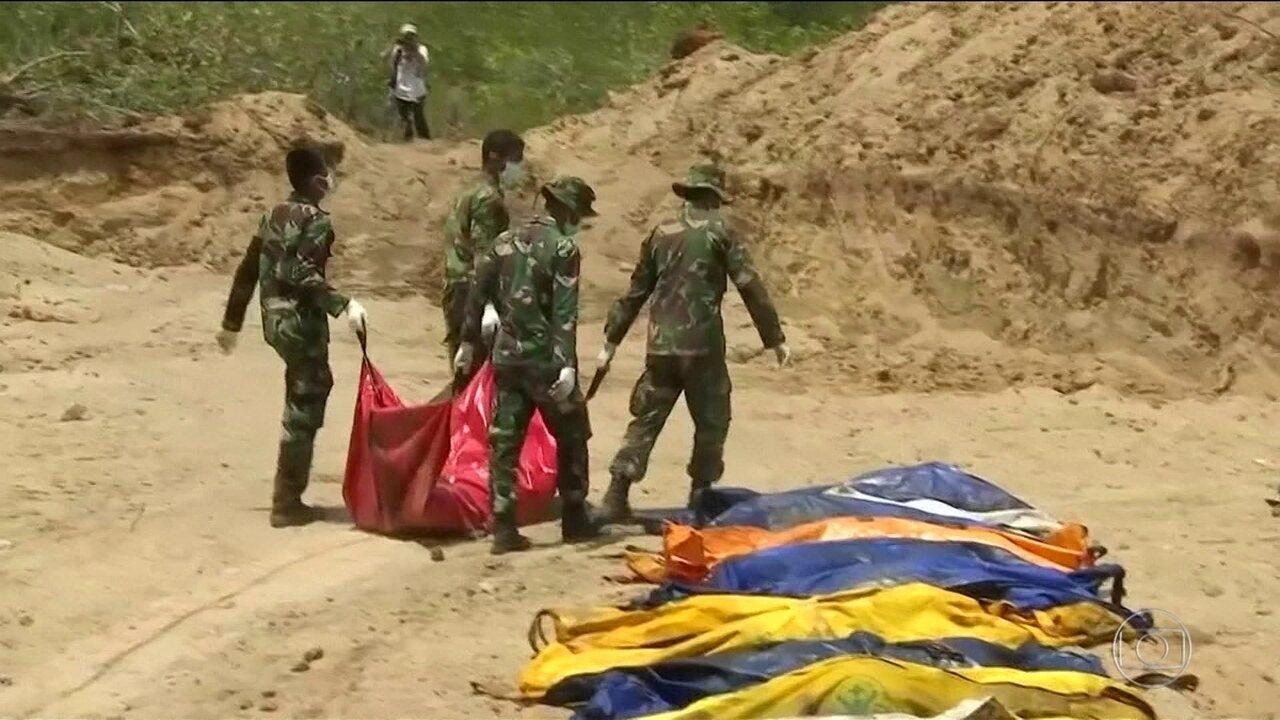 Passa de 1.200 o número de mortos na Indonésia após terremoto e tsunami