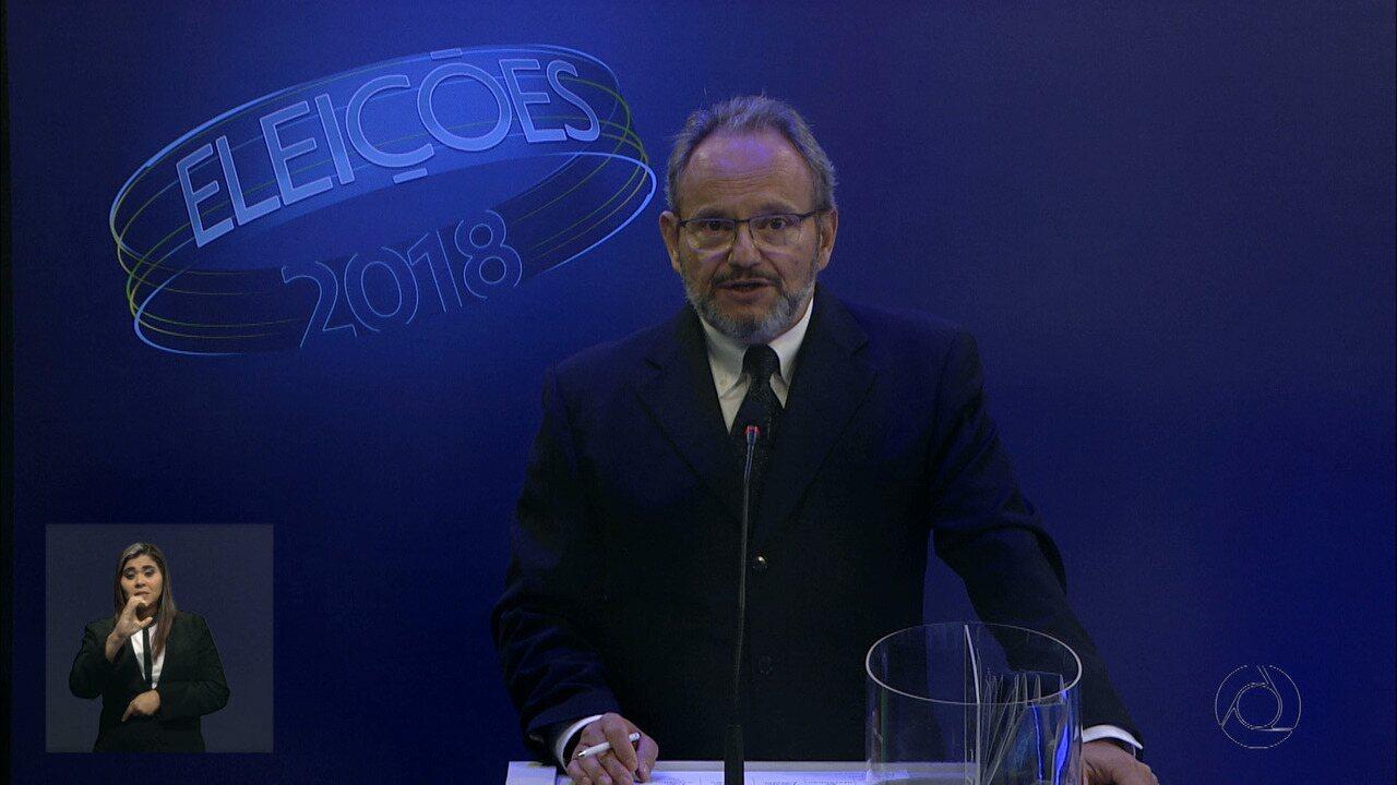 Debate para governador na Paraíba: 2º bloco