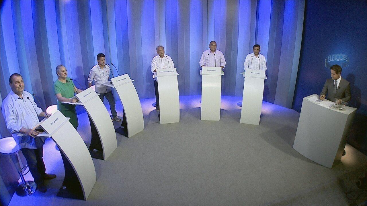 Bloco 1: Debate para governador do Amazonas