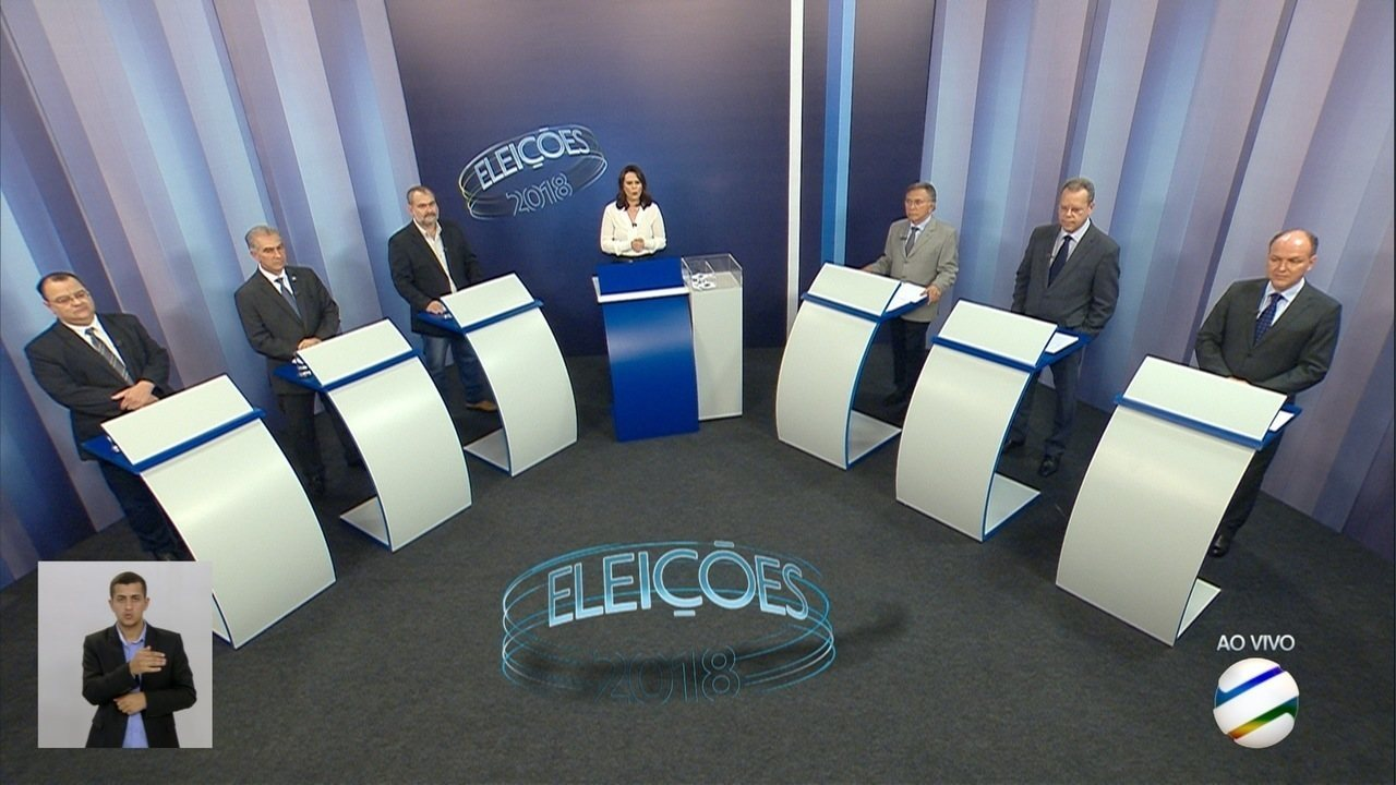 Debate para governador de Mato Grosso do Sul