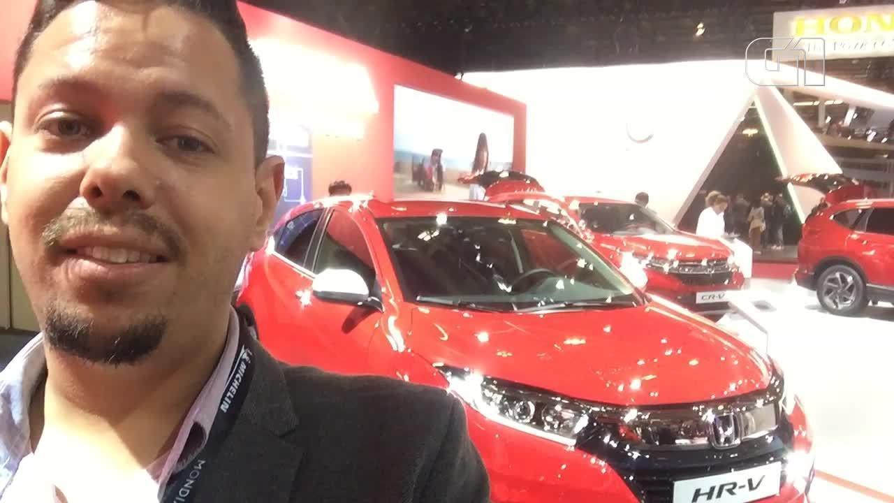 G1 mostra detalhes da 1ª atualização do Honda HR-V