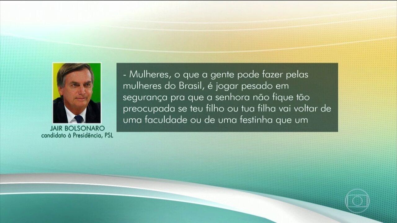 Jair Bolsonaro faz campanha pelas redes sociais nesta quinta-feira (04)