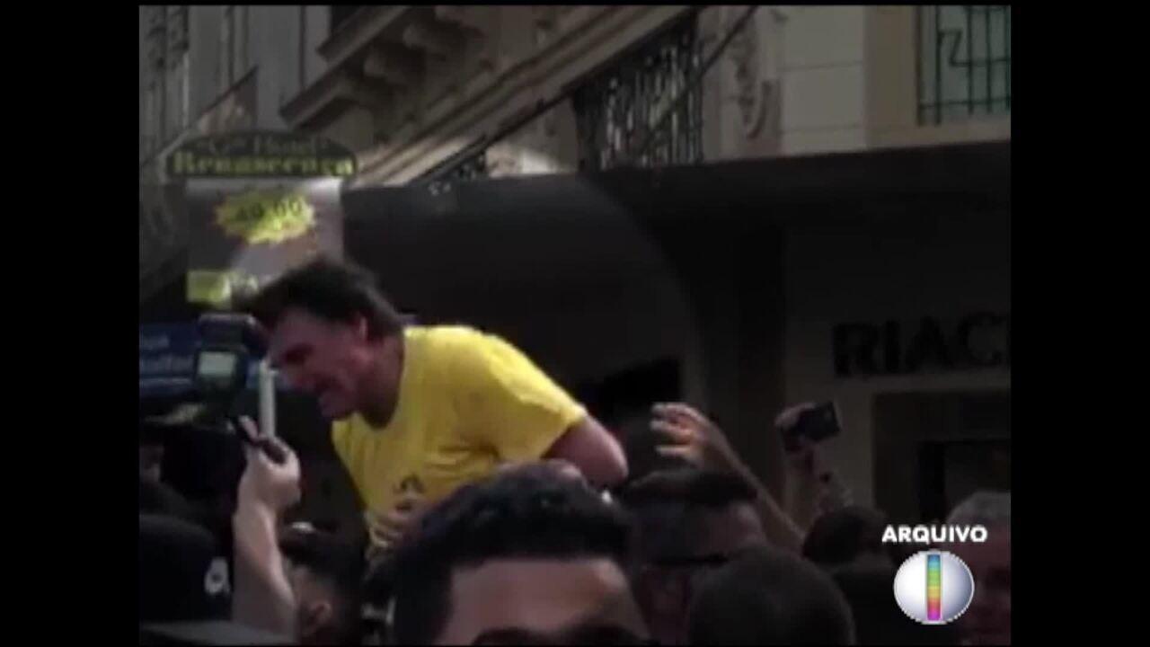 Justiça acolhe denúncia, e agressor de Bolsonaro vira réu