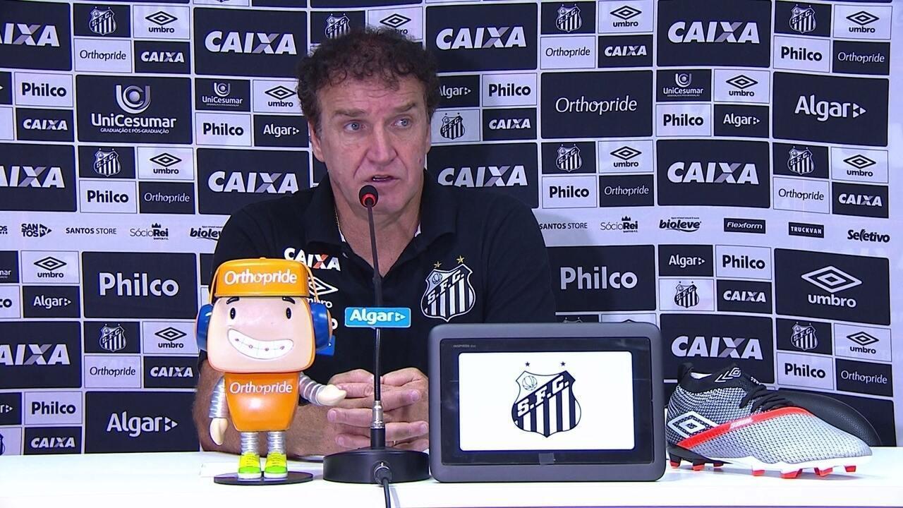 Cuca admite Santos abaixo mesmo com vitória em Salvador e faz pedido ... ce2b4dec67da6