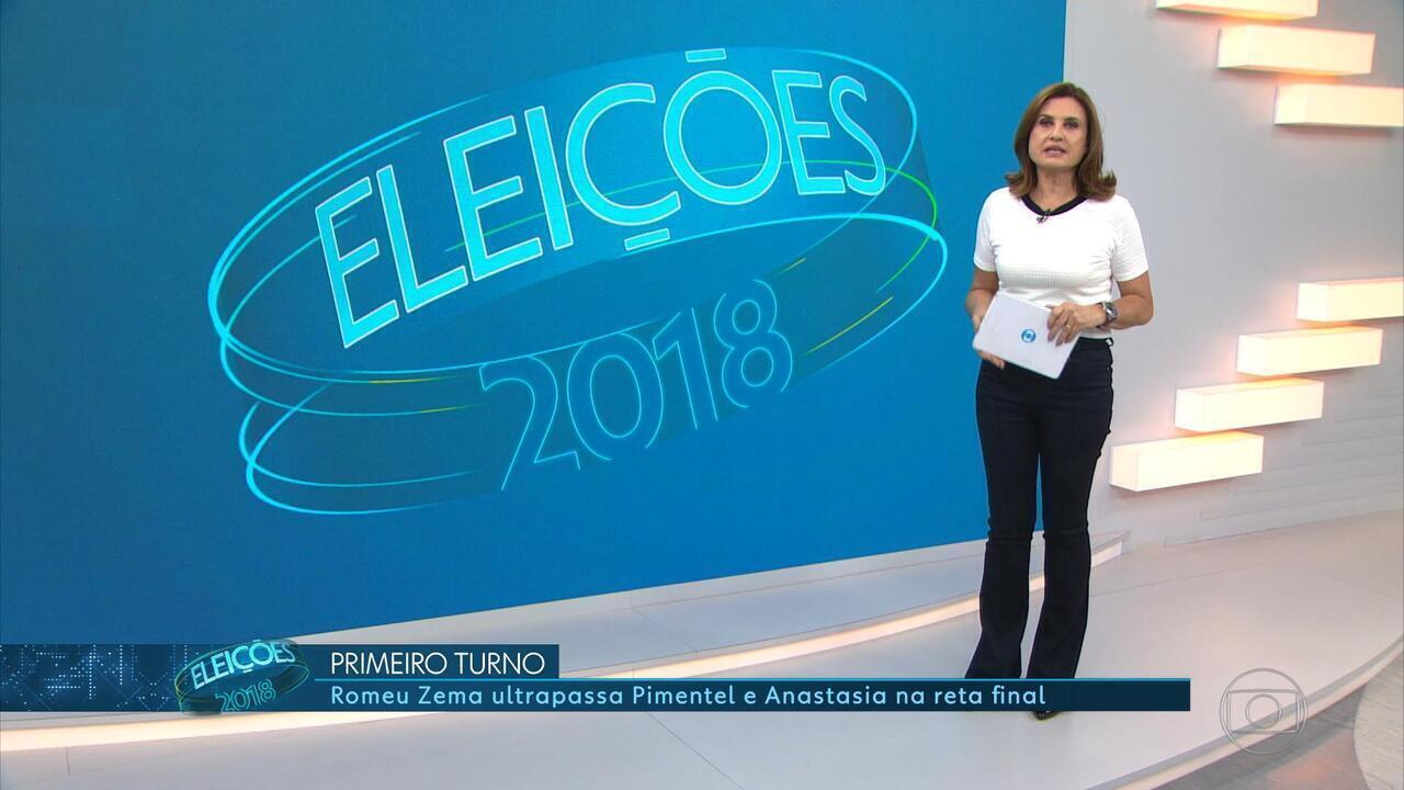 Segunto turno em Minas será entre Romeu Zema (Novo) e Antonio Anastasia (PSDB)