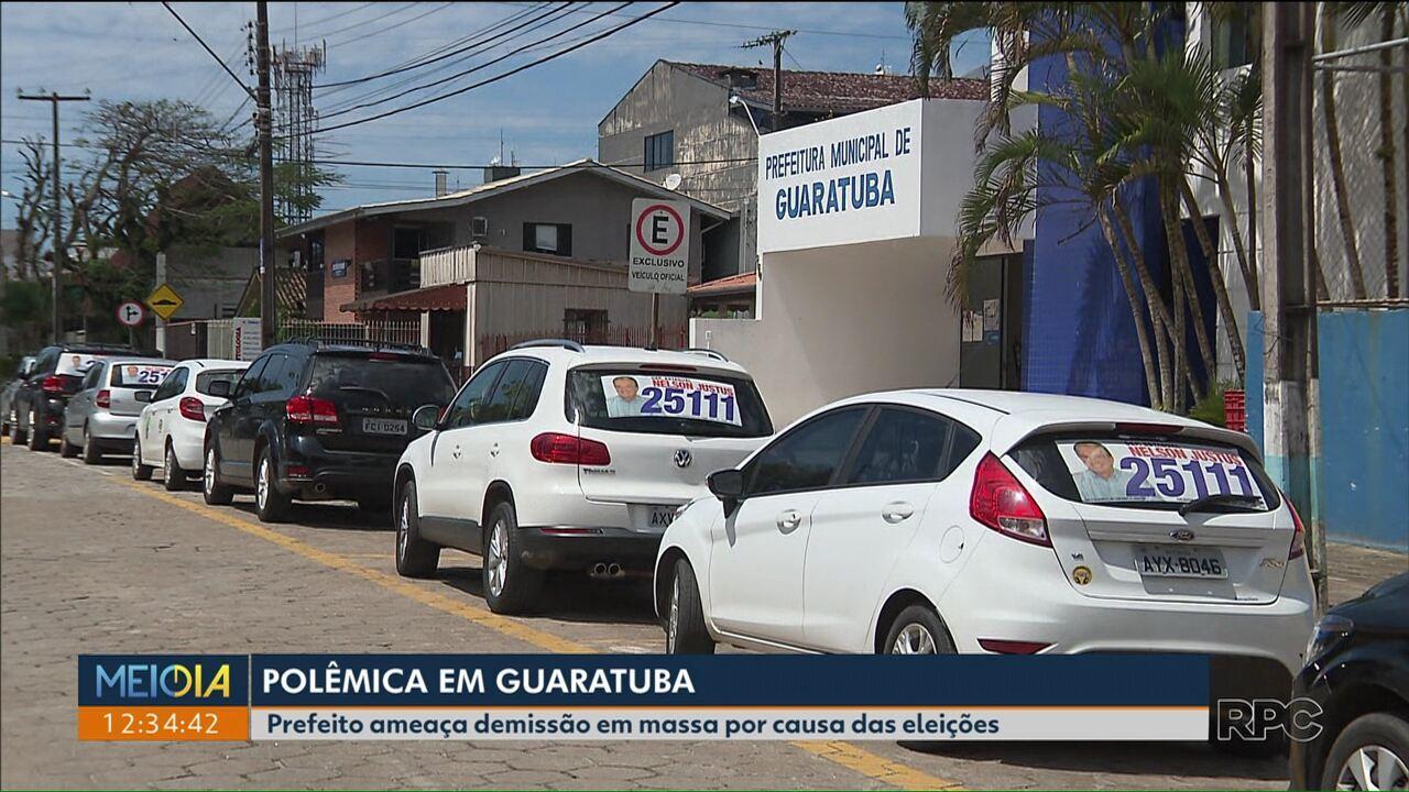 Prefeito ameaça demitir funcionários por causa da baixa votação do pai na cidade