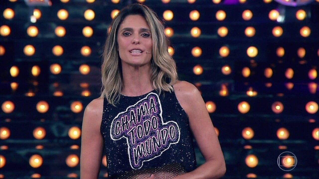 Fernanda Lima encerra o programa com mensagem para o futuro