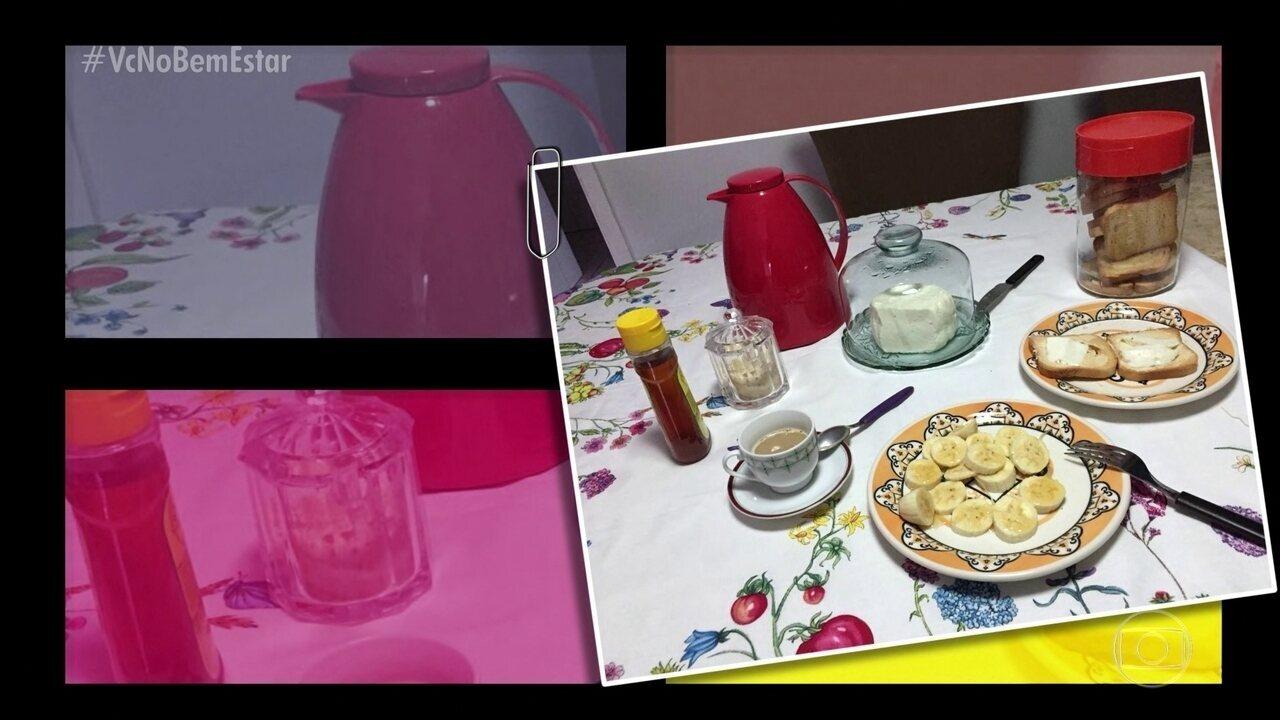 Café da manhã: Amanda, Álvaro e Bia