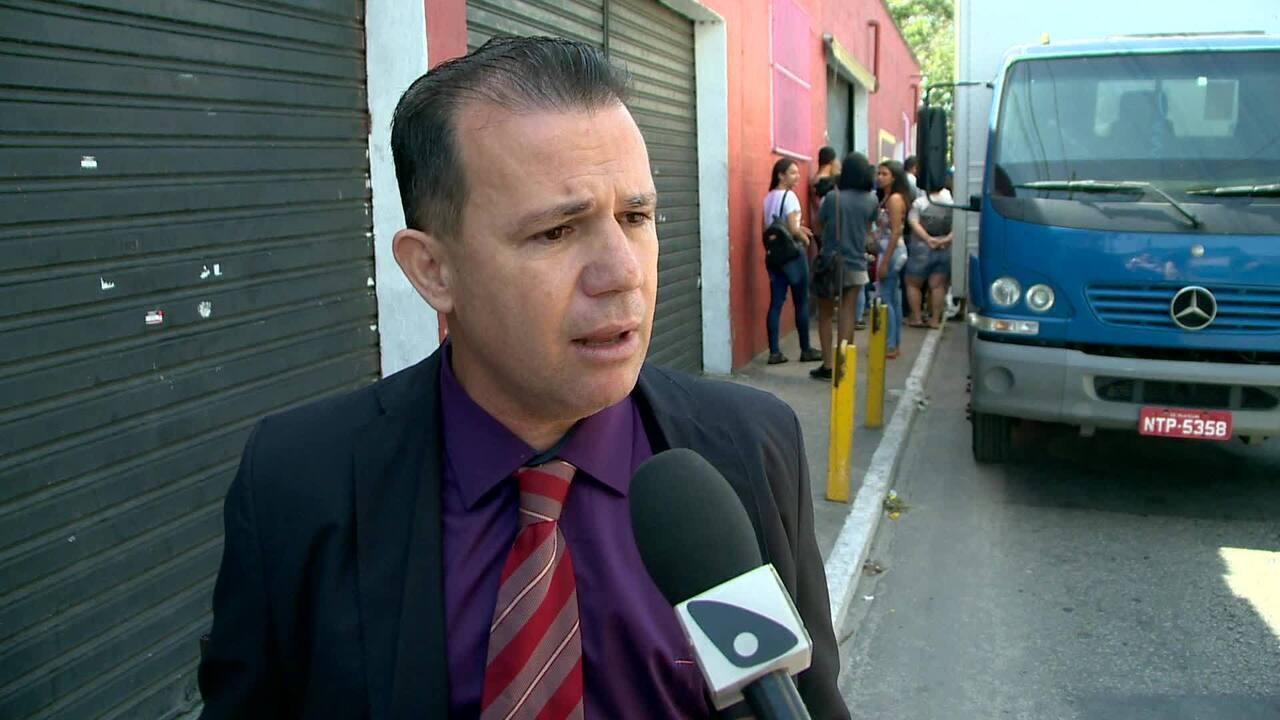 Operação da polícia em shopping popular em Vila Velha é 'perseguição', diz advogado